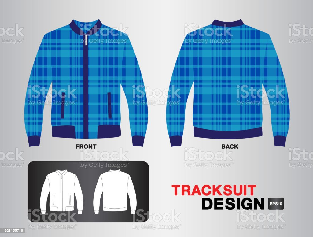 tracksuit training design template for soccer jersey football