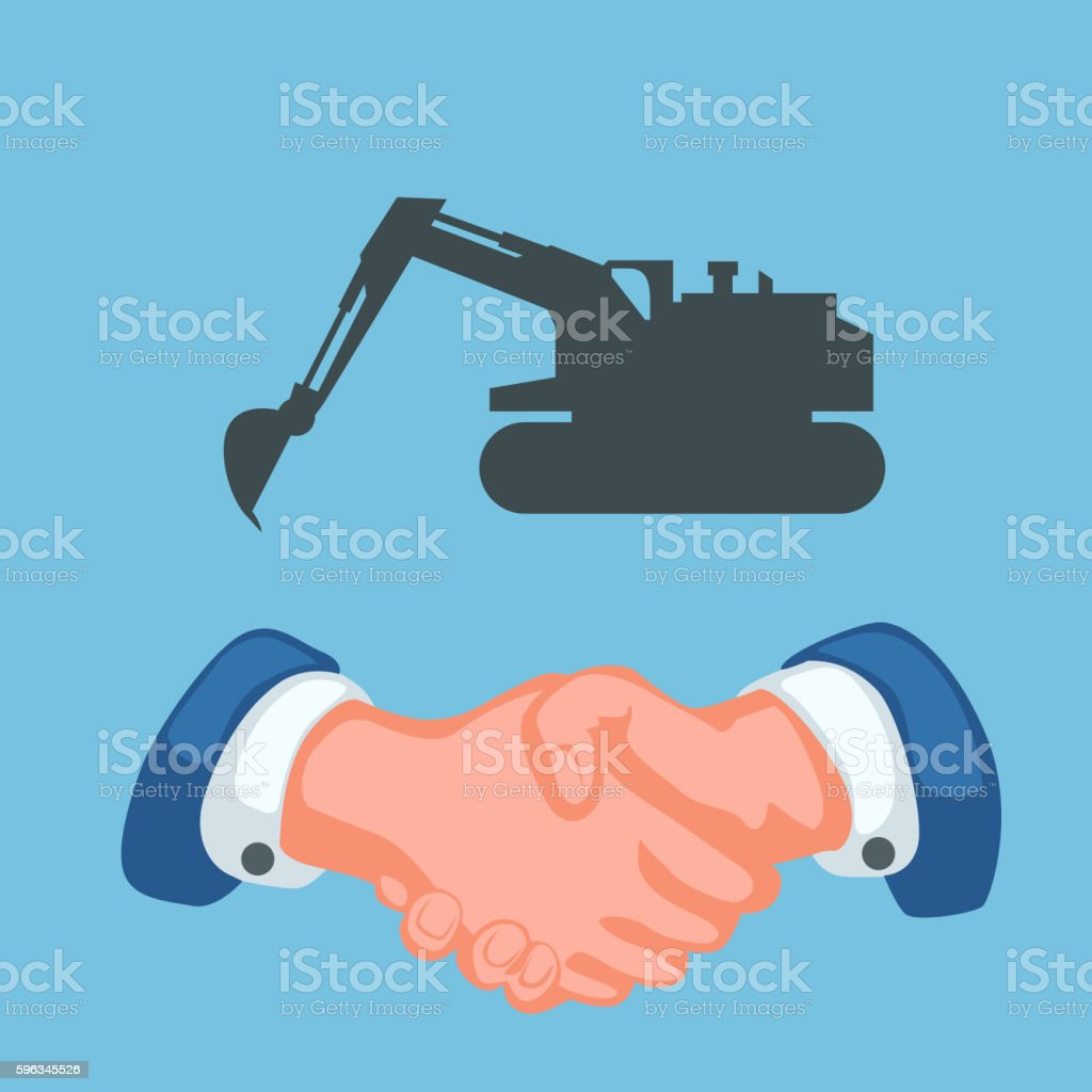 tractor and handshake royalty-free tractor and handshake stock vector art & more images of adult