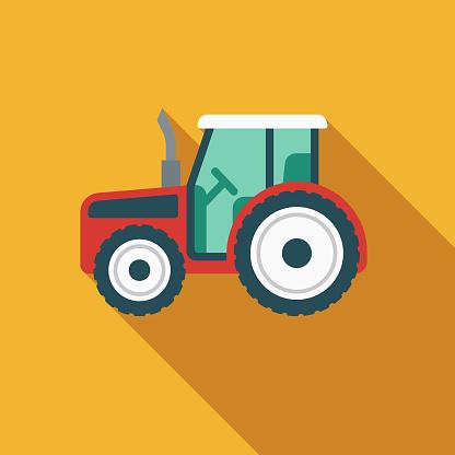 Tractor Children's Toy Icon