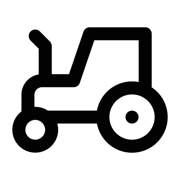 tractor vehicle image stock illustrations