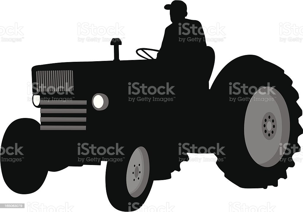 tractor royalty-free tractor stock vector art & more images of adult