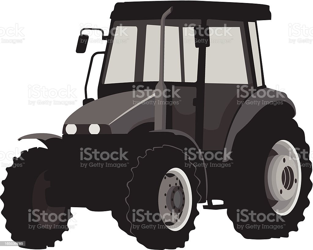 Tractor royalty-free tractor stock vector art & more images of agricultural machinery