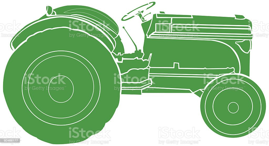 Tractor royalty-free tractor stock vector art & more images of agriculture