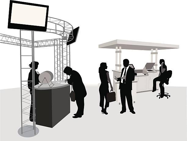 tradebooth - 展示会点のイラスト素材/クリップアート素材/マンガ素材/アイコン素材