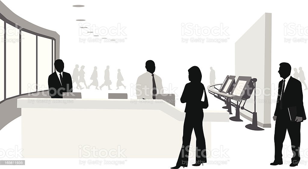 Exhibition Booth Vector : Trade show booth vector silhouette stock art more