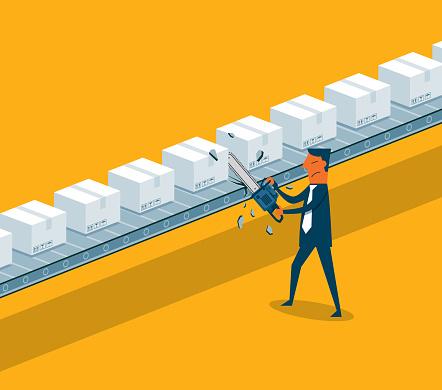 Trade war - Electric Saw