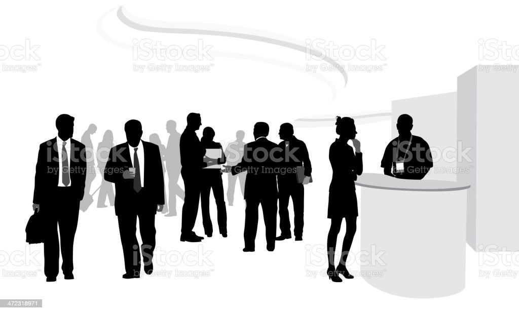 royalty free trade show crowd clip art vector images rh istockphoto com crown vector crown vector graphic