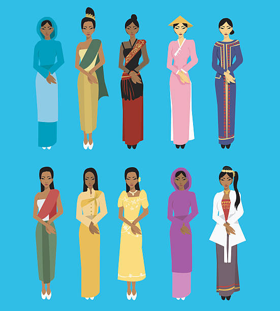Malaysian People Clipart Royalty Free Ma...
