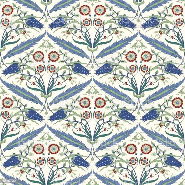 Traditional arabic ornament seamless floral ornamental pattern iznik vector id654970922?b=1&k=6&m=654970922&s=612x612&h=bfm2jpey5jgnb2ukuly9ztm44nhvwejoha5mphm3zee=
