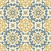 Traditional  Arabic ornament seamless for your design. Vector.  Background
