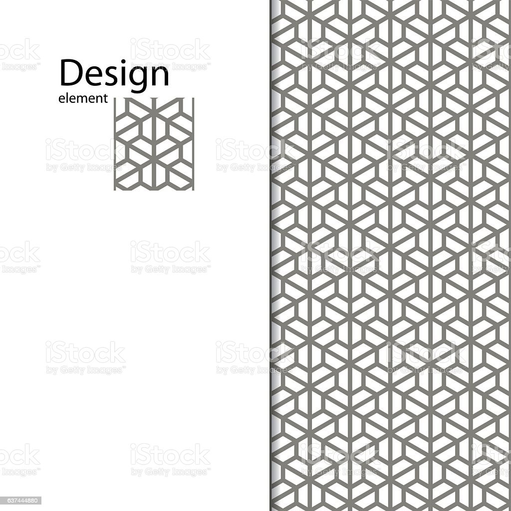 Traditional Arabic Seamless Ornament Geometric Pattern For ...