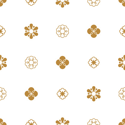 Traditional chinese vector seamless patterns for new year greeting card.