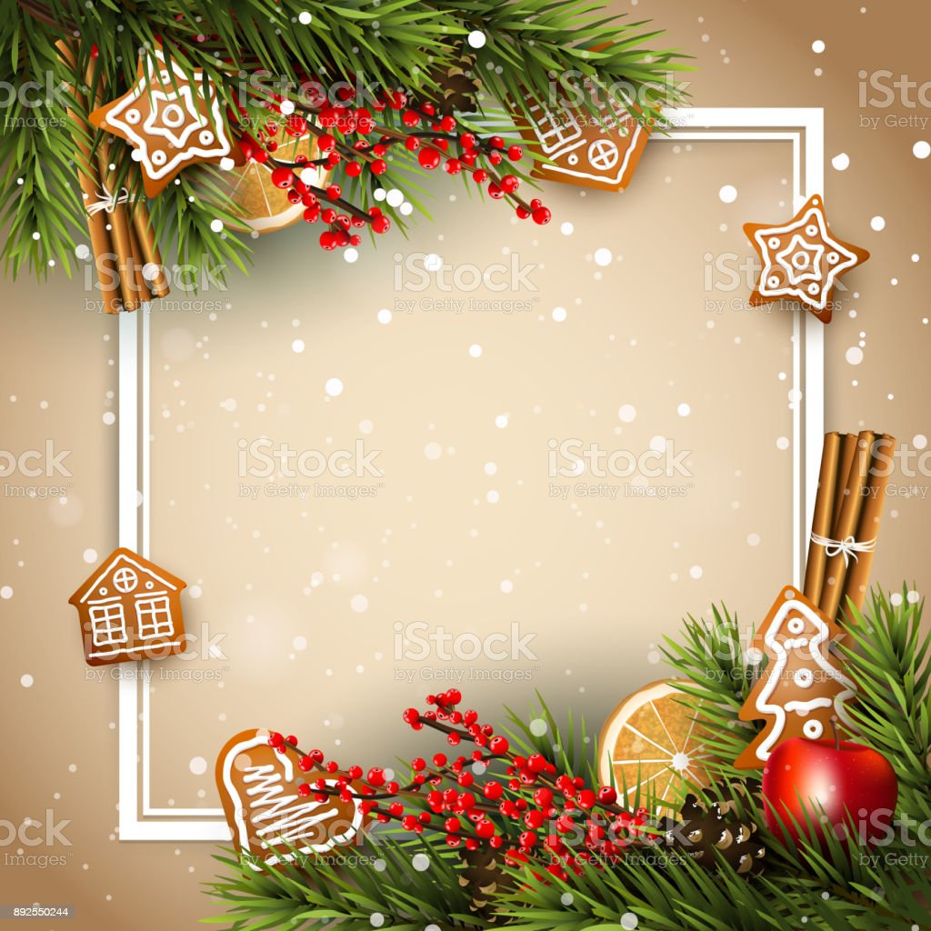 Traditional Christmas.Traditional Christmas Background Stock Illustration Download Image Now