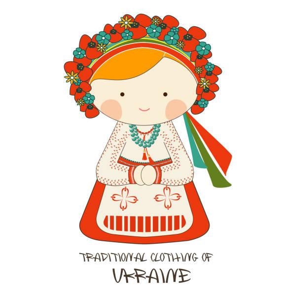 ウクライナの伝統的な衣類, ヴィシヴァンカ - ウクライナ点のイラスト素材/クリップアート素材/マンガ素材/アイコン素材