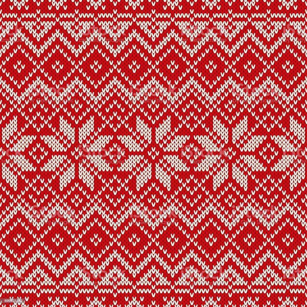 Traditionella Fair Isle Stil Sömlös Stickning Mönster Sportlovet Sömlös Stickad Tröja Design vektorgrafik och fler bilder på Abstrakt