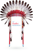 istock traditional indian headdress realistic 1201266611