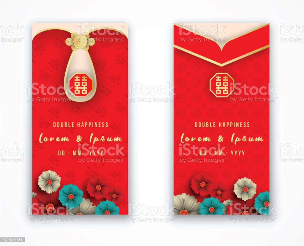 Traditional Invitation Card Chinese Wedding Costume ...