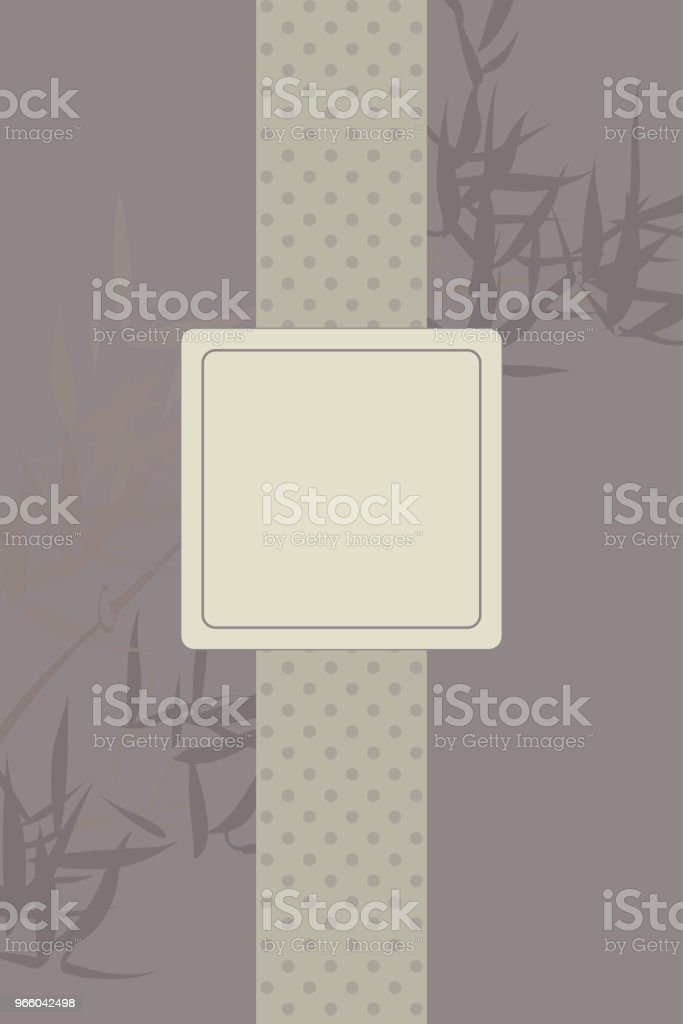 Traditional Japanese Background Template - Royalty-free Adulto arte vetorial