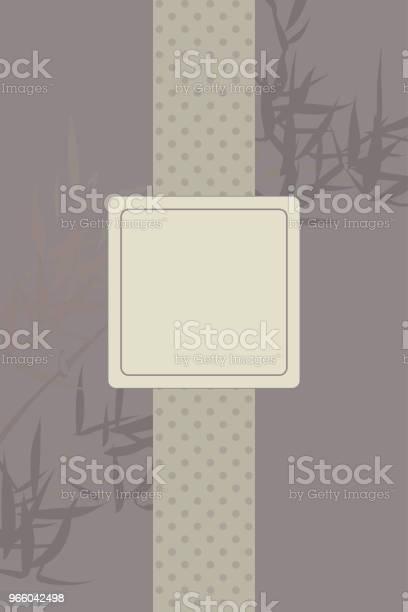 Traditional Japanese Background Template - Arte vetorial de stock e mais imagens de Adulto