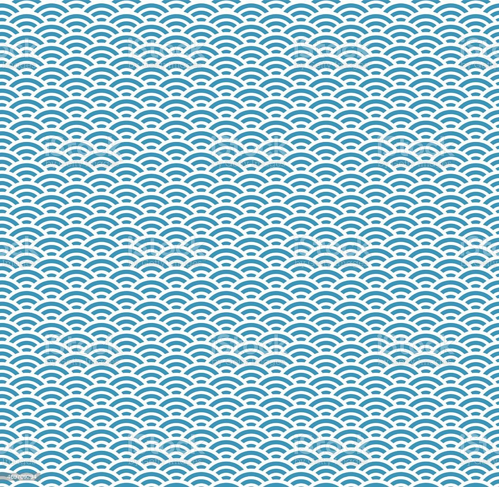 Traditional Japanese Wave Pattern Stock Illustration Download Image Now Istock