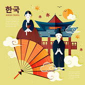 traditional Korean poster