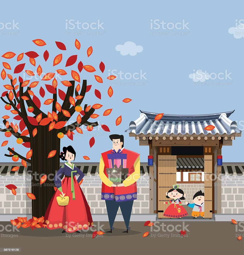 Traditional Korean style house C
