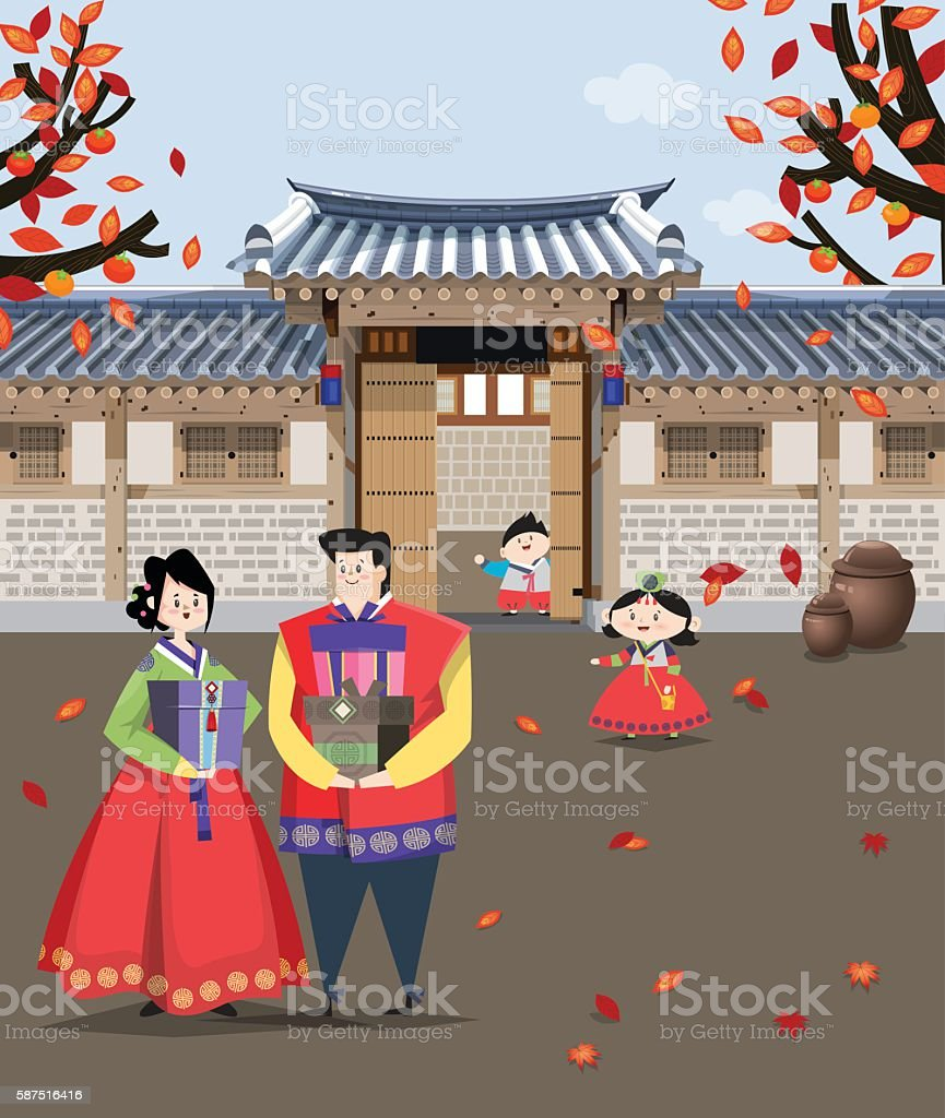 Traditional Korean style house D