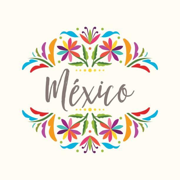 Vectores de Bordado Mexicano Patrones e Ilustraciones Libres de ...