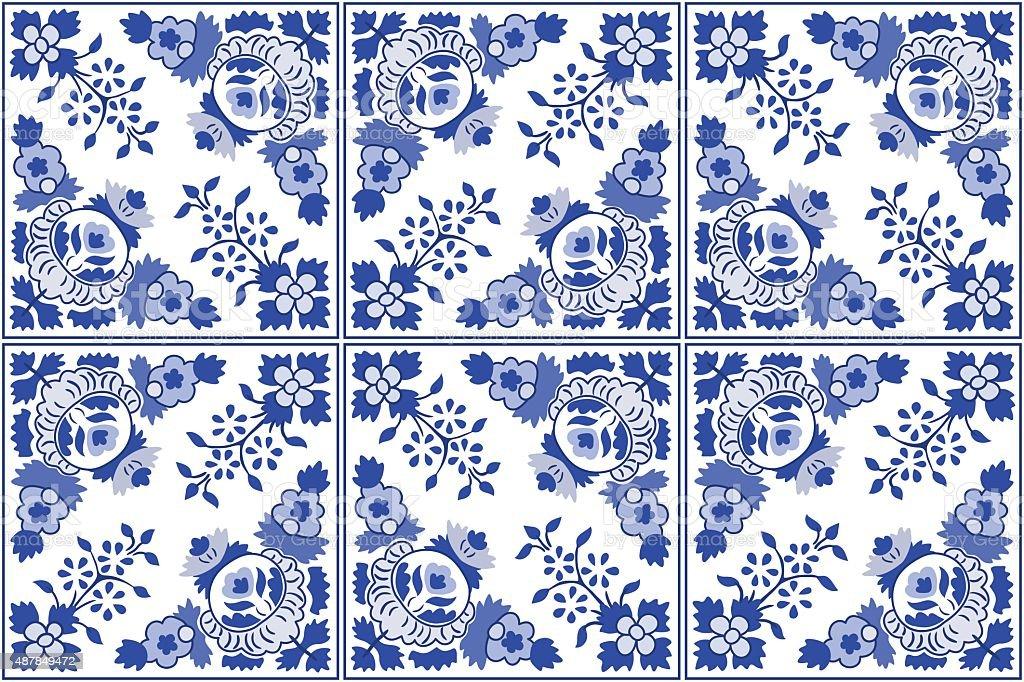 Pinturas tradicionales baldosas portuguesa azulejos for Vinilo azulejo hidraulico