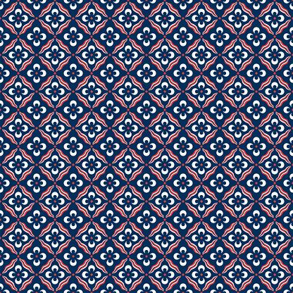 Traditional Ottoman Cintemani Seamless Pattern