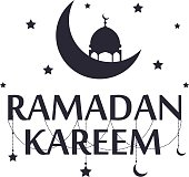 Traditional ramadan kareem art month celebration greeting card festival design. Holy muslim culture islamic religion mubarak eid islam holiday holy ramazan vector illustration