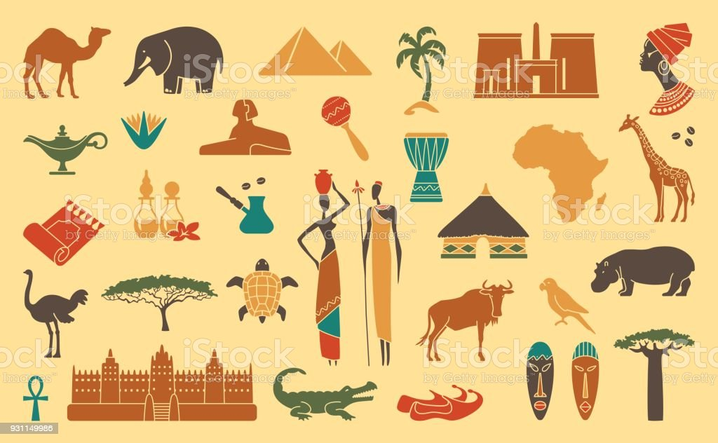 Traditional symbols of Africa