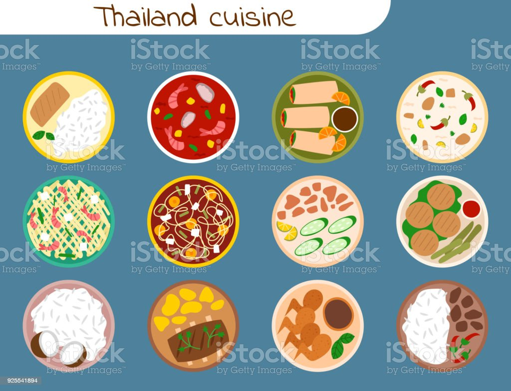 Traditionelle Thai Küche | Traditionelle Thailandische Kuche Asiatische Platte Kuche Thailand