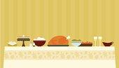 istock Traditional Thanksgiving Dinner 165747867