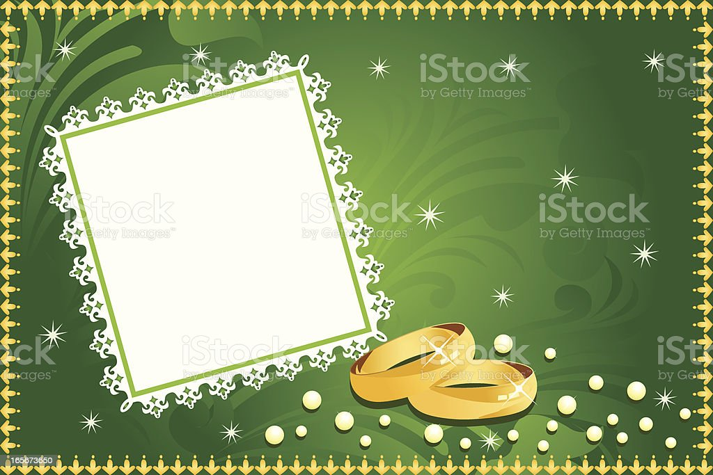 Traditional Wedding Background Stock Vector Art More Images Of
