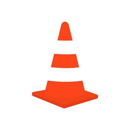 Traffic cone vector stock illustration