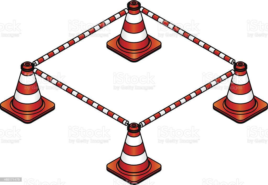 Traffic Cones royalty-free traffic cones stock vector art & more images of below