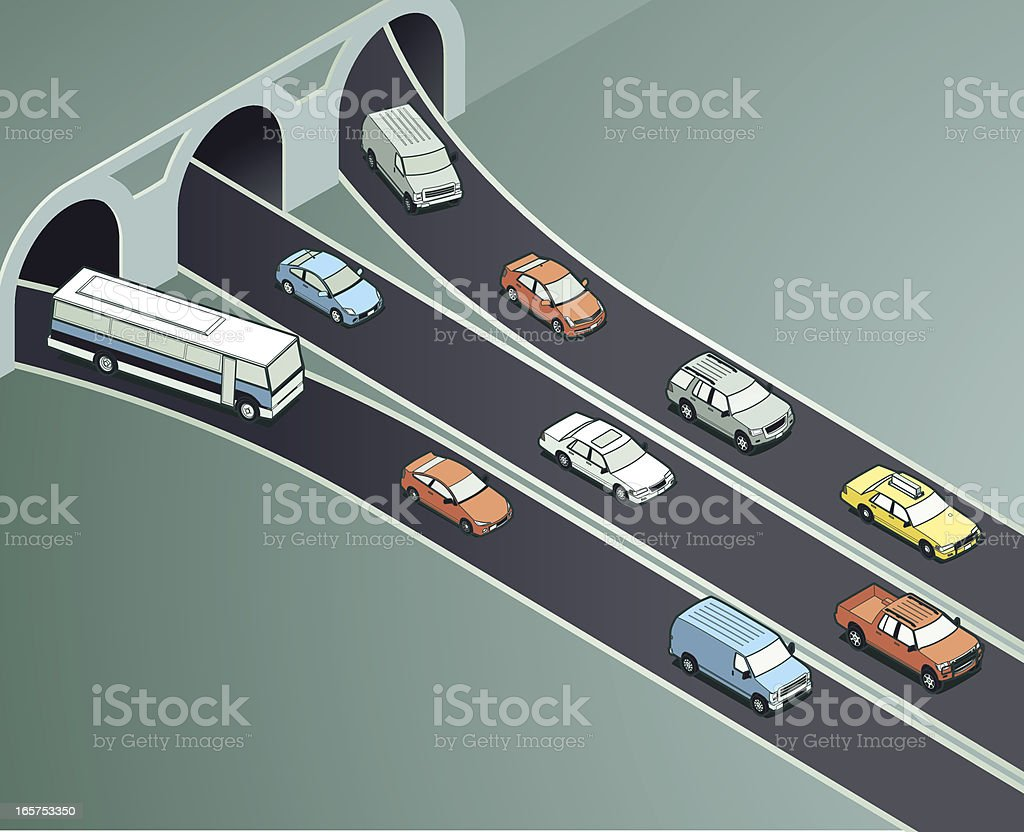 Traffic Drivers Illustration vector art illustration