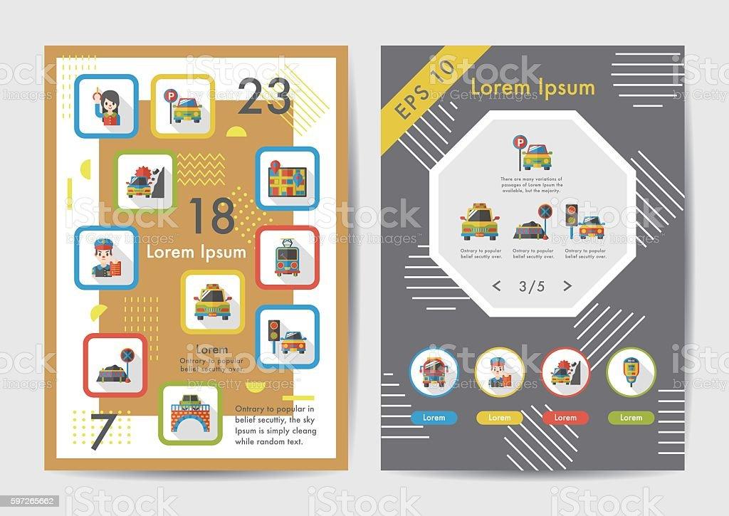 Traffic icons set with long shadow,eps10 Lizenzfreies traffic icons set with long shadoweps10 stock vektor art und mehr bilder von ampel