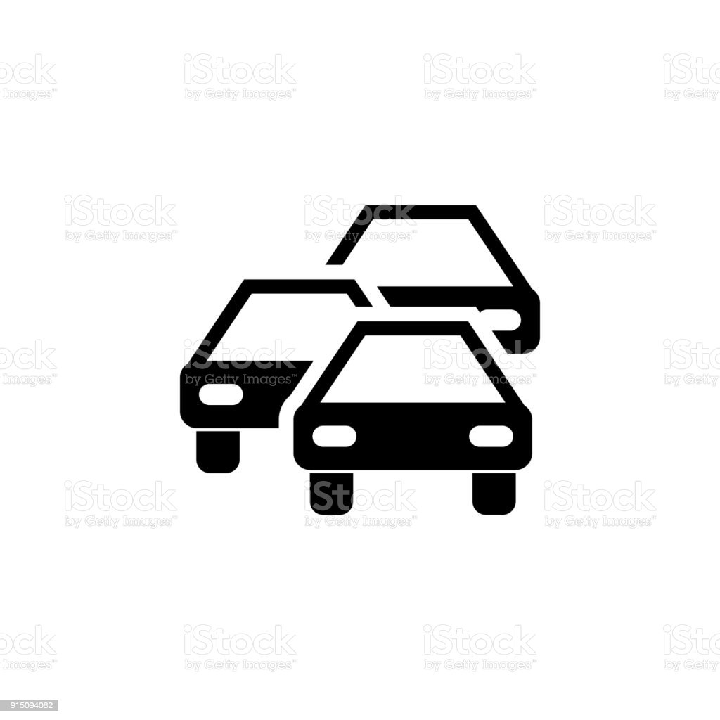 Traffic Jam Icon Elements Of Transport Icon Premium Quality Graphic