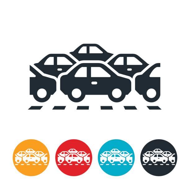 交通堵塞圖示 - traffic 幅插畫檔、美工圖案、卡通及圖標