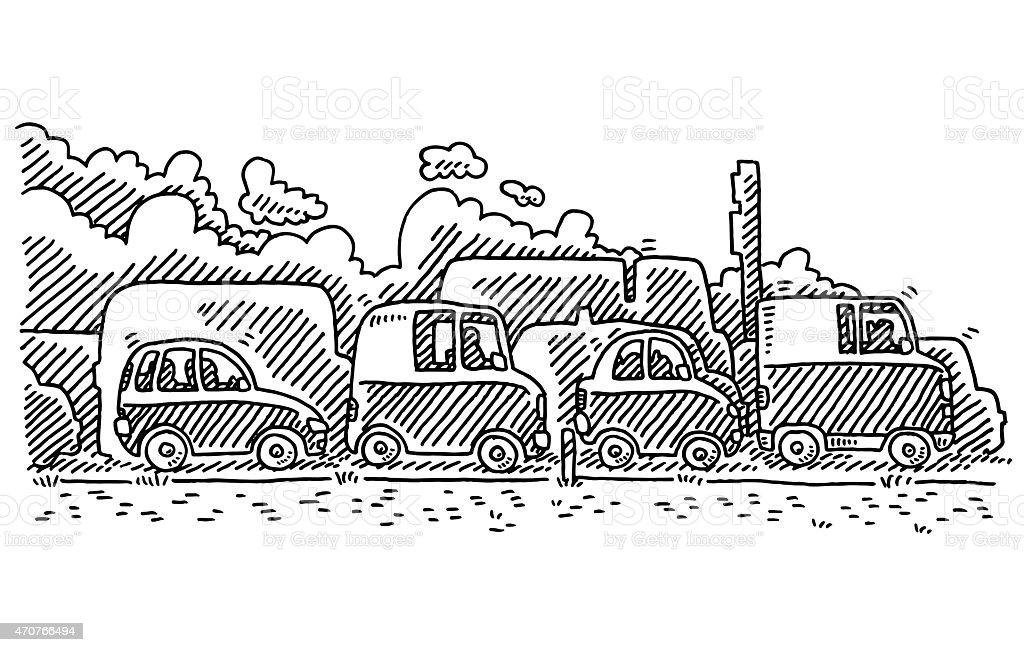"""Résultat de recherche d'images pour """"dessin de voitures qui font de la fumée image libre de droits"""""""