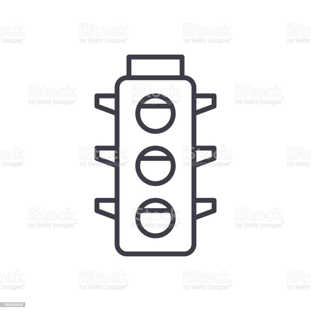 Traffic laws black icon concept. Traffic laws flat  vector symbol, sign, illustration. royalty-free traffic laws black icon concept traffic laws flat vector symbol sign illustration stock vector art & more images of accessibility