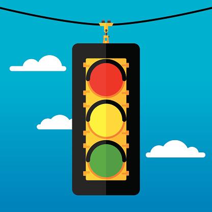 Traffic Light Flat