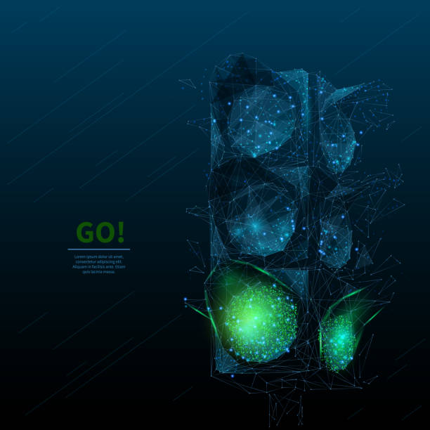 Ampel GO BL – Vektorgrafik