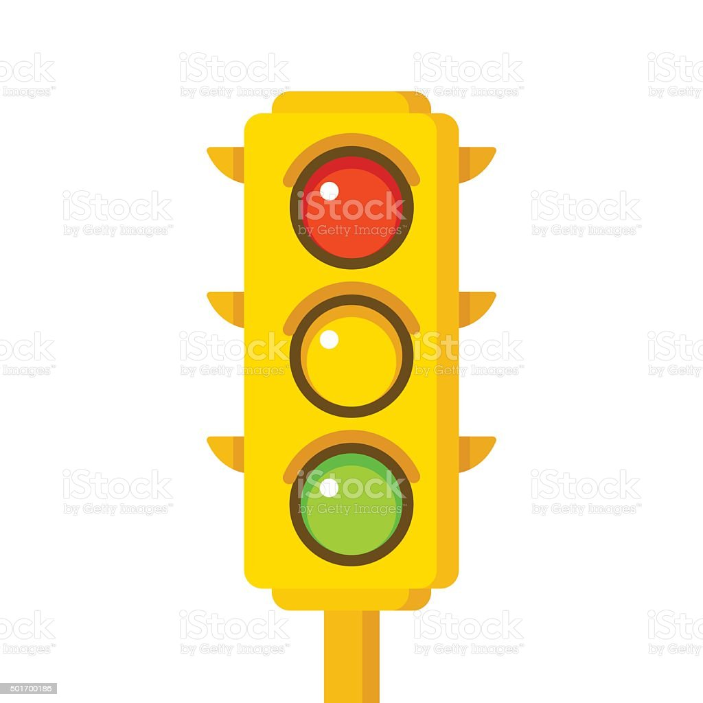 Traffic Light Icon Stock Vector Art  for Traffic Light Yellow Icon  289hul
