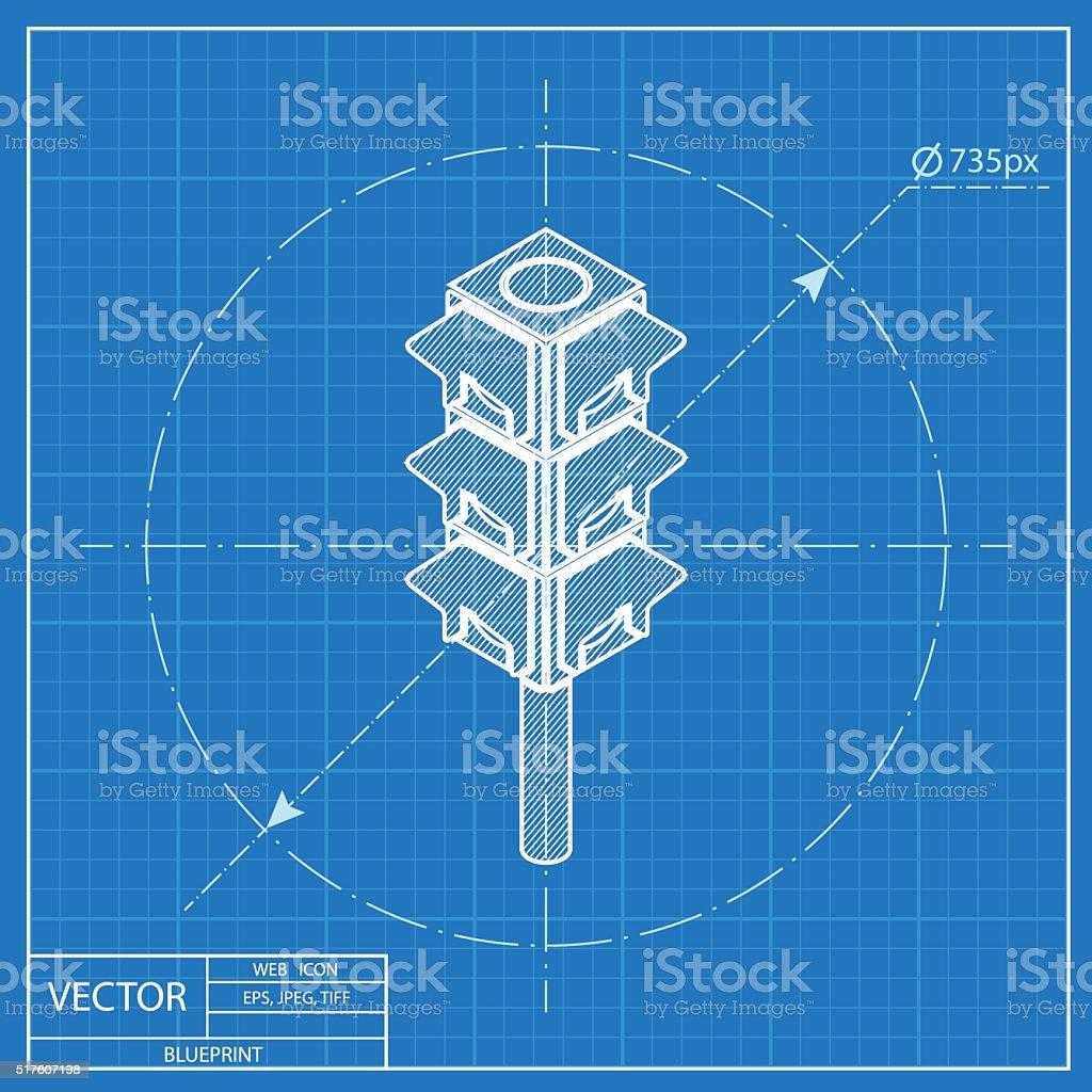 Ampel Isometrische 3dsymbol Vorlage Stock Vektor Art und mehr ...
