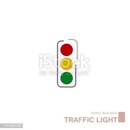 Traffic light sign