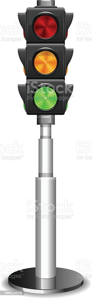 Traffic lights royalty-free stock vector art