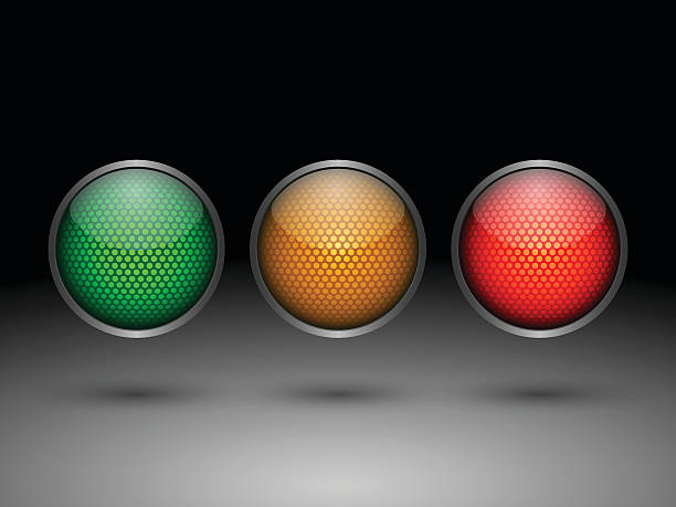 traffic lights.vector - stoplights stock illustrations, clip art, cartoons, & icons